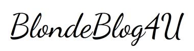 BlondeBlog4U
